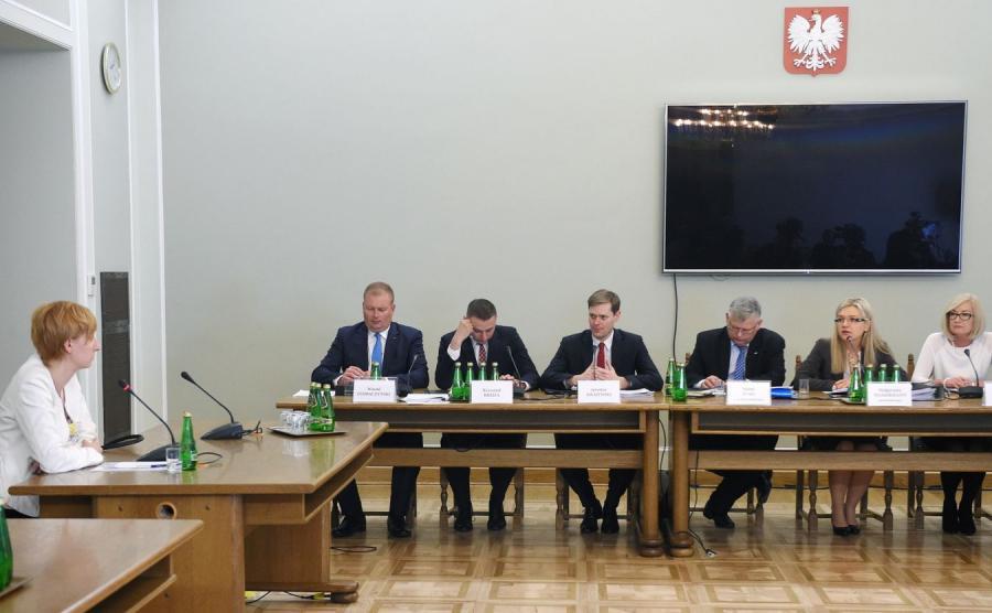 Sylwia Ciszewska przed komisją ds. Amber Gold