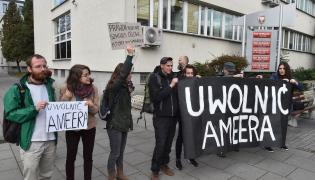 Protesty w obronie Ameera Alkhawlany'ego