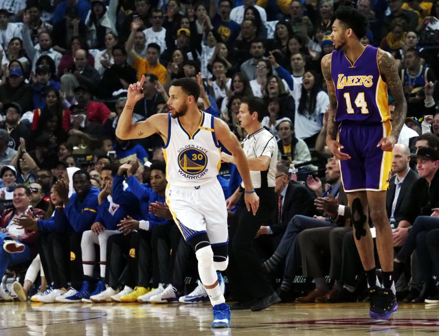 Stephen Curry i Brandon Ingram