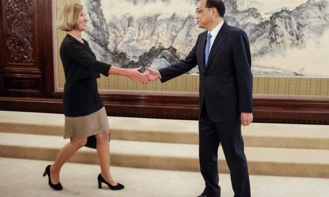 Zaryzykowała i poległa. Sukienka zmasakrowała sylwetkę Federiki Mogherini. FOTO
