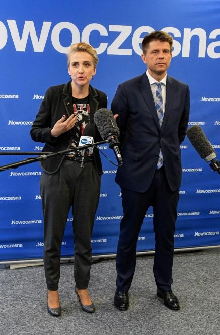 Joanna Scheuring-Wielgus i Ryszard Petru