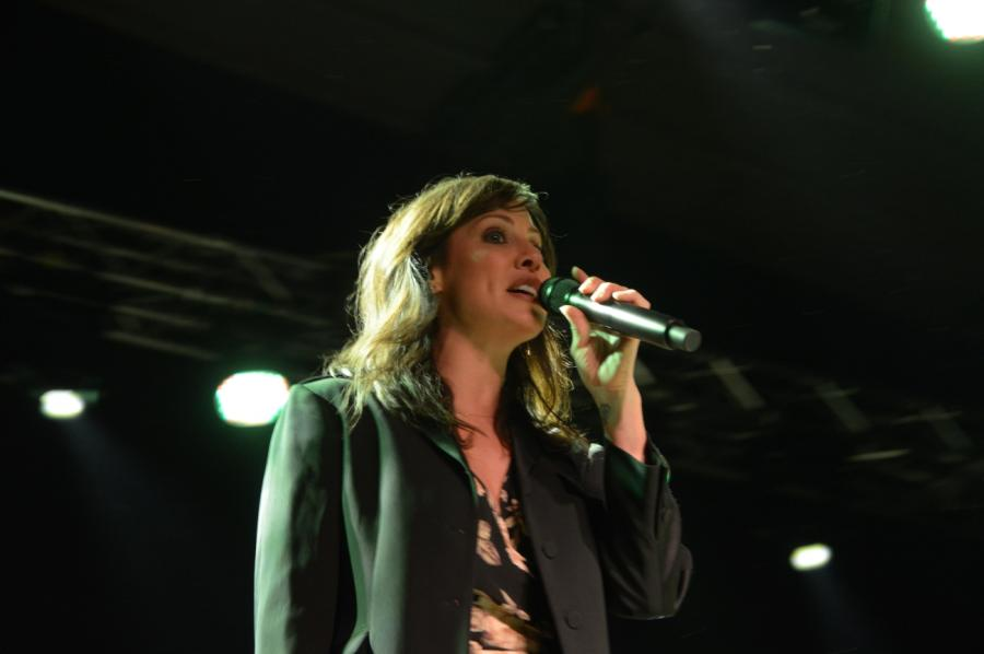 Natalie Imbruglia zagrała w warszawskim klubie Stodoła, 26 kwietnia 2017 roku.
