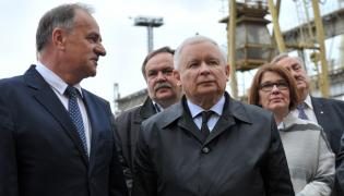 Kaczyński Stocznia Szczecin