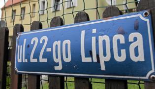 Ulica 22-go Lipca w Bogatyni