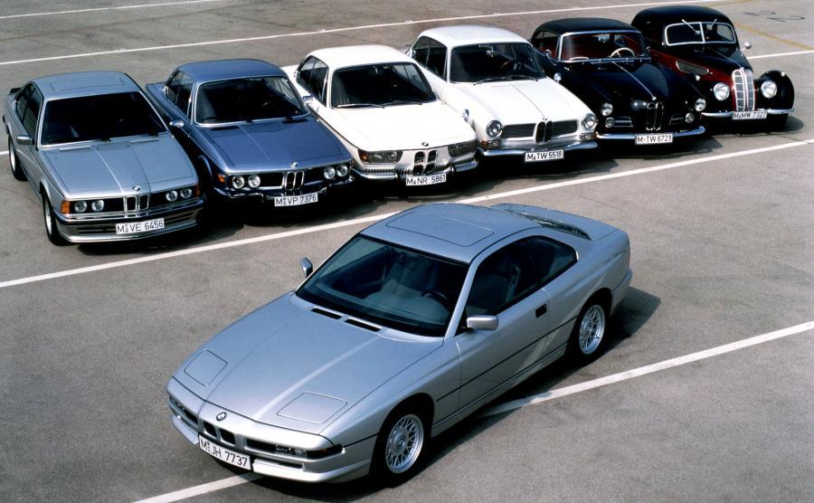 BMW 850i (E31, 1990 rok)