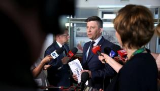 Wiceszef MON Michał Dworczyk