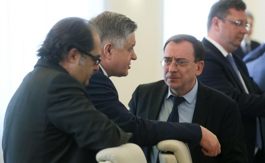 Mariusz Kamiński na posiedzeniu rządu