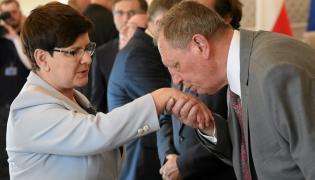 Beata Szydło i Jan Szyszko