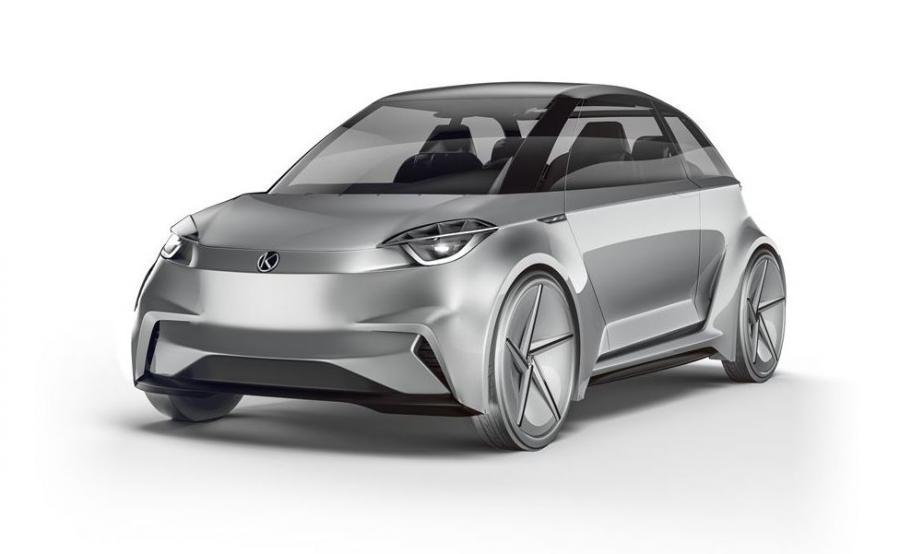 Damian Woliński stawia na taki wygląd polskiego auta elektrycznego. Model nazwał SE1