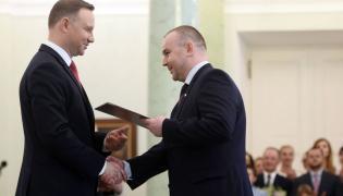 Prezydent Andrzej Duda i Paweł Mucha