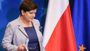 Premier Beata Szydło na unijnym szczycie