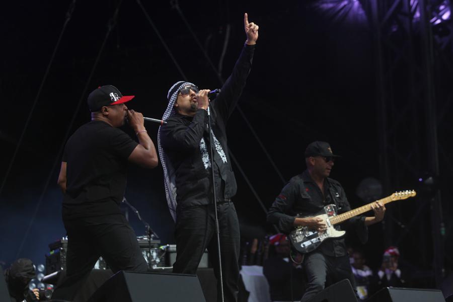 Prophets of Rage na festiwalu Open'er 2017. 30.06.2017