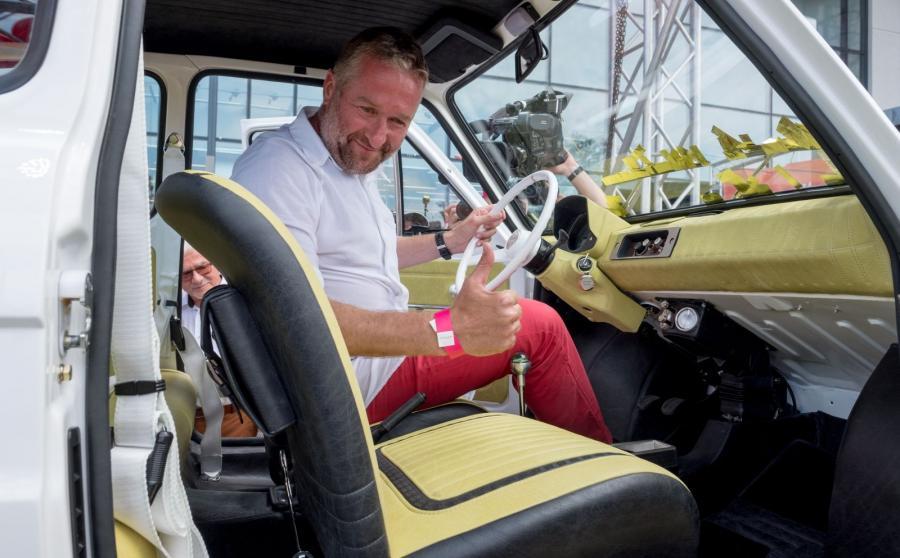 Zakup malucha sfinansował biznesmen i rajdowiec Rafał Sonik