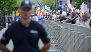 Pikieta przed Sejmem