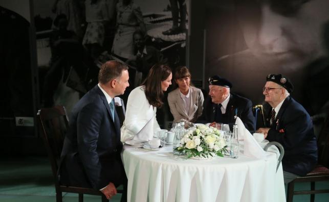 Spotkanie z powstańcami warszawskimi