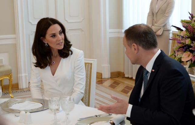 Śniadanie par książęcej i prezydenckie w