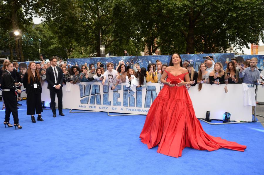 Rihanna na premierze Valerian