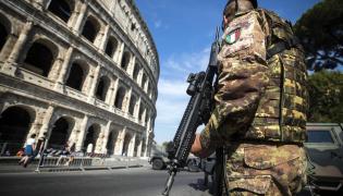 Włochy Rzym zabezpieczenia terroryzm