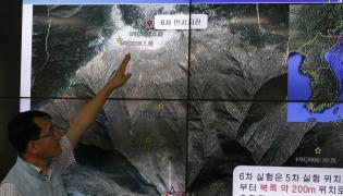 Korea Północna próba jądrowa