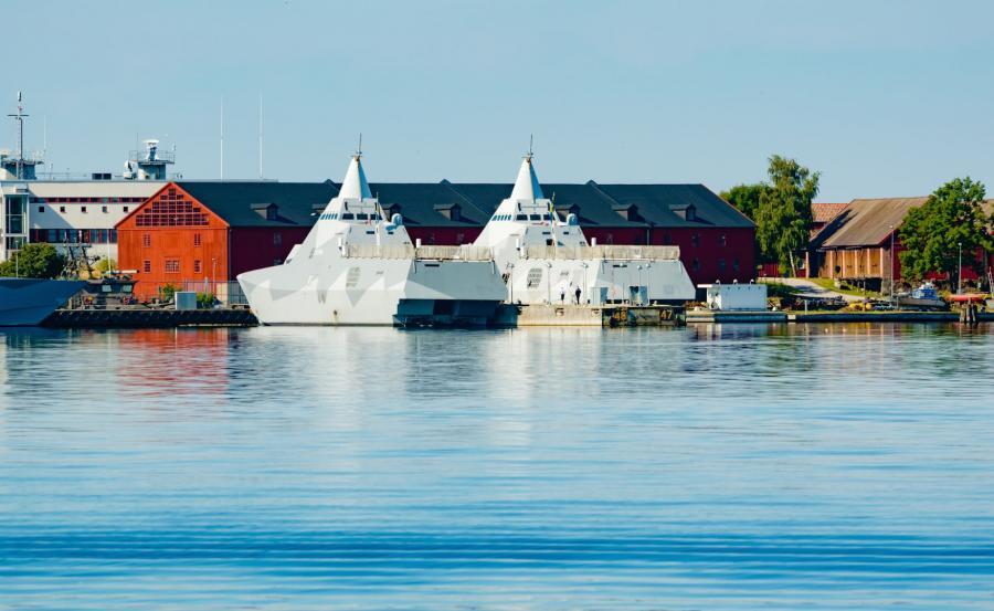 Port wojskowy w Karlskronie