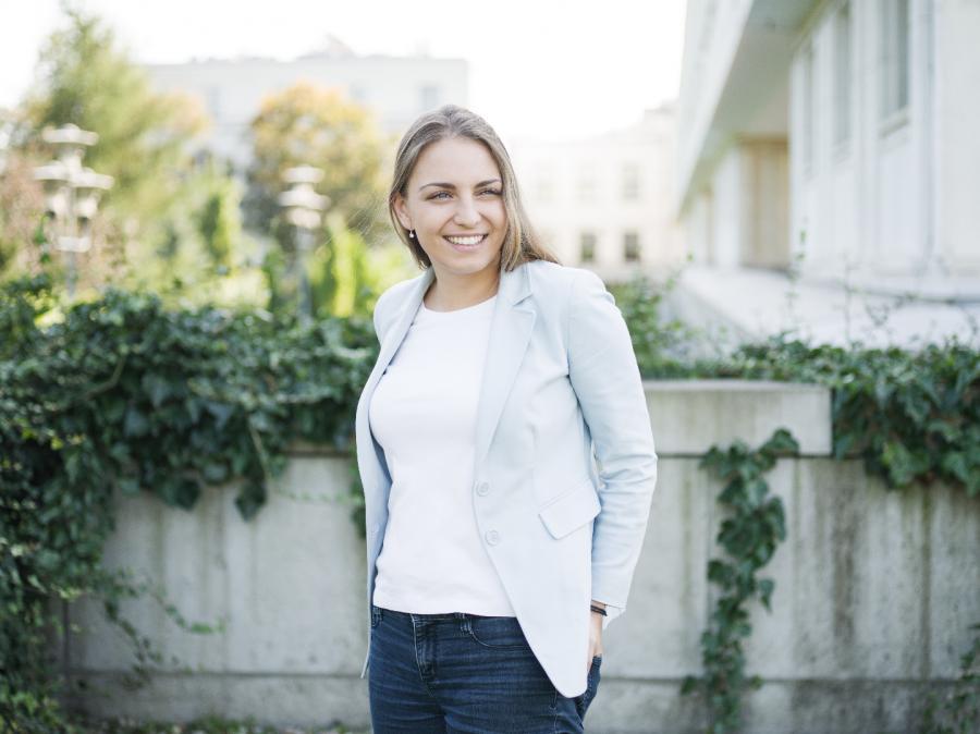 Kinga Gajewska; fot. Darek Golik