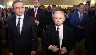 Zbigniew Ziobry i Jarosław Kaczyński