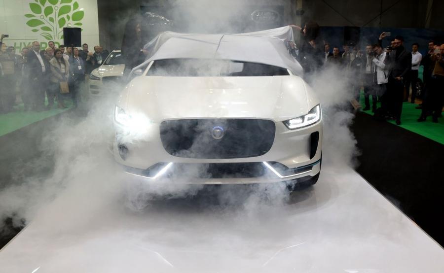 Jaguar I-Pace był pokazywany dotychczas tylko w Genewie i Frankfurcie