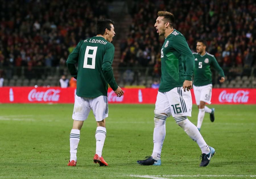 Hirving Lozano i Hector Herrera