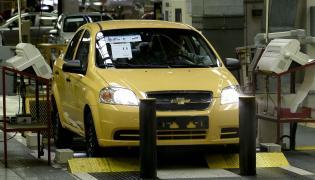 W FSO produkowano Chevrolety Aveo