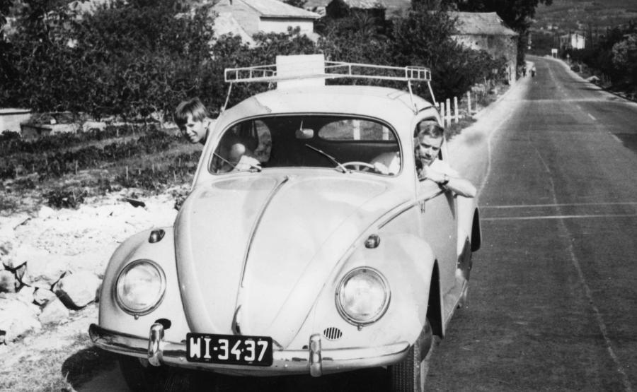Krzysztof Komeda uwielbiał prowadzić, ale był słabym kierowcą