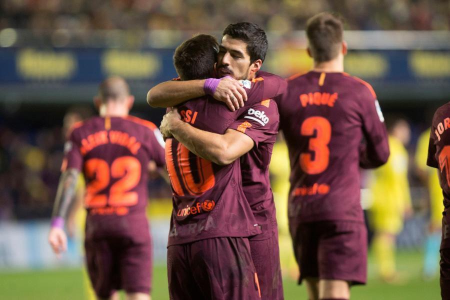 Leo Messi i Luis Suarez