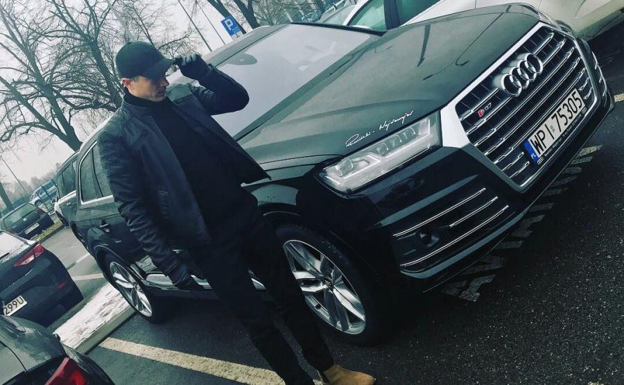 Robert Lewandowski i Audi SQ7