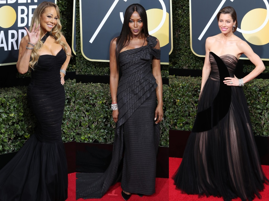 Mariah Carey, Naomi Campbell i Jessica Biel
