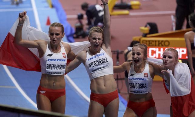 Dziewczyny na medal! Polki ze srebrnymi medalami MŚ w sztafecie 4x400