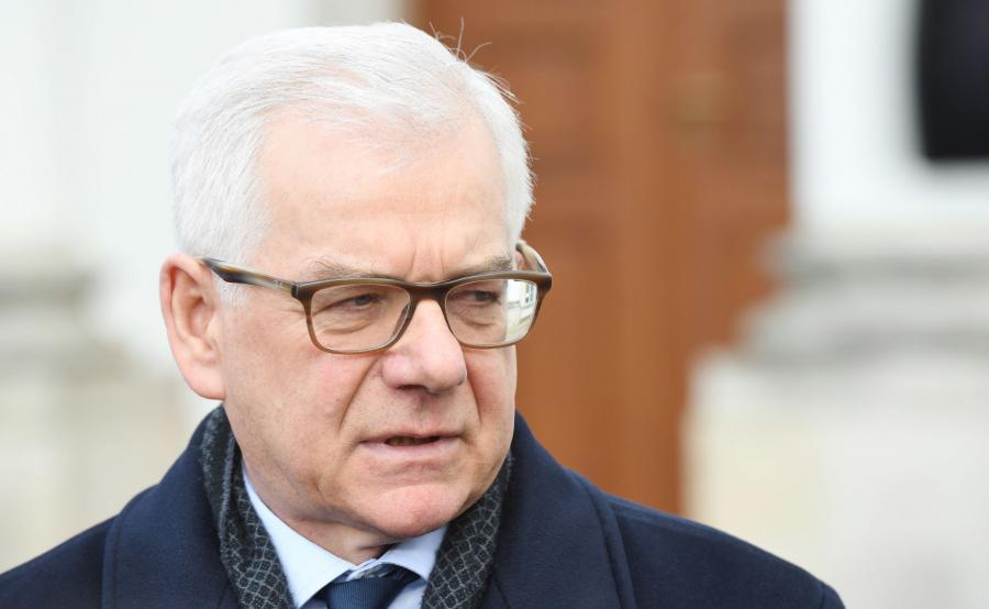 minister Jacek Czaputowicz