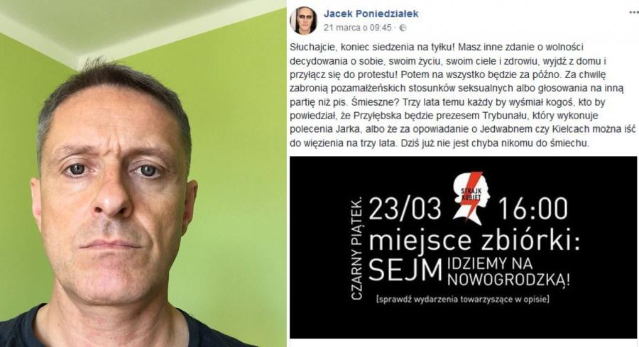 Czarny piątek - Jacek Poniedziałek
