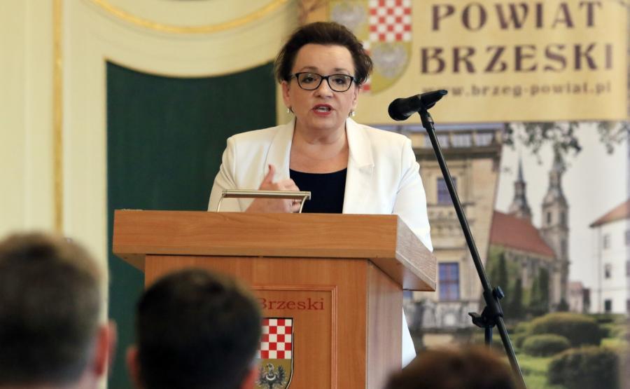 Anna Zalewska w Brzegu