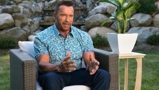 """Arnold Schwarzenegger w filmie """"Dorwać Gnthera"""""""