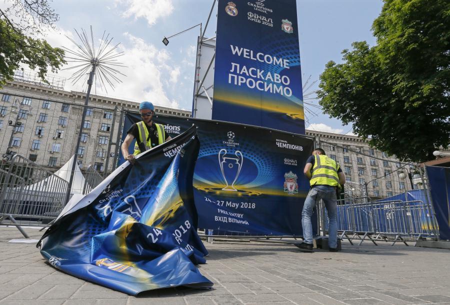 Kijów szykuje się na finał Ligi Mistrzów