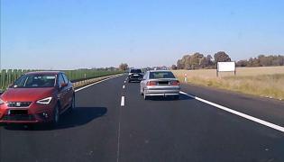 Screen z wideo z miejsca zdarzenia