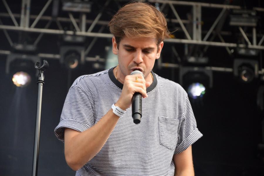Taco Hemingway podczas koncertu na Orange Warsaw Festival. 2 czerwca 2018