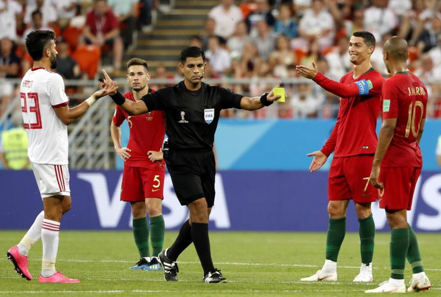 Cristiano Ronaldo (z prawej)