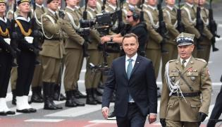 Prezydent Andrzej Duda i gen. Mieczysław Gocuł