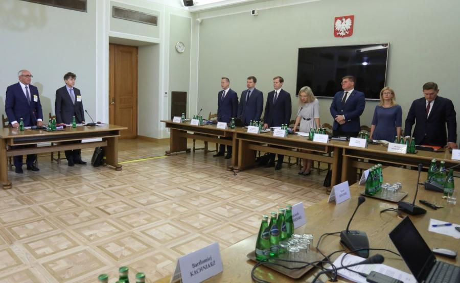 Posiedzenie Komisji ds. Amber Gold