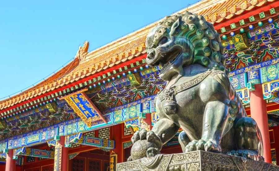 Chiński lew