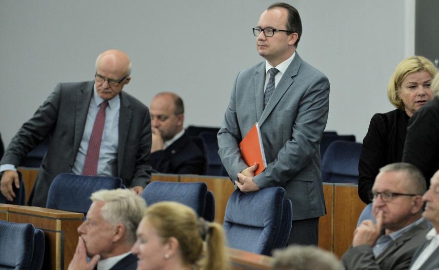 Rzecznik Praw Obywatelskich Adam Bodnar w Senacie
