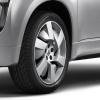 Przednie i tylne koła Mitsubishi Concept PX-MiEV's są napędzane dwoma elektrycznymi silnikami synchronicznymi z magnesami trwałymi