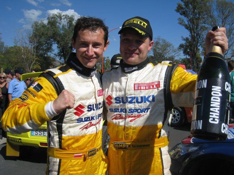 Kościuszko samodzielnym liderem Mistrzostw Świata JWRC