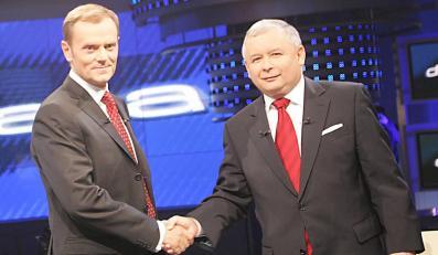 Kaczyński: Nie widzę zalotów Tuska