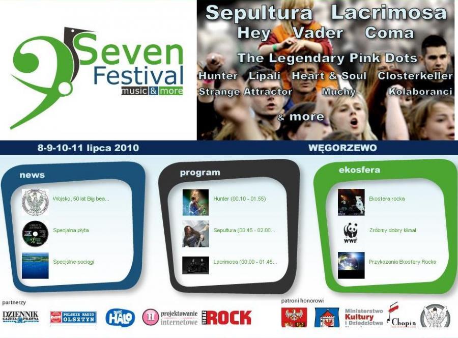 Zagraj o karnet na gwiazdorski Seven Festival